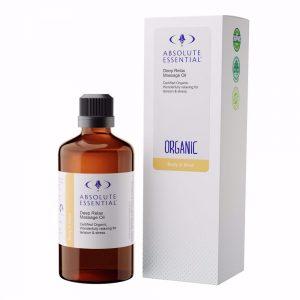 AEdeep relax massage oil organic
