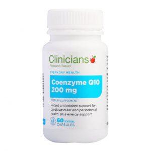 clinicians coenzyme q10 200mg cncq2 front  02604.1567644412