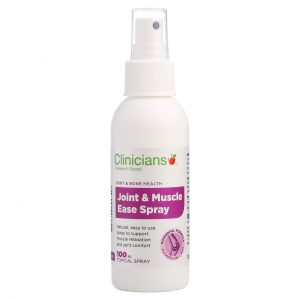clinicians joint and muscle ease spray