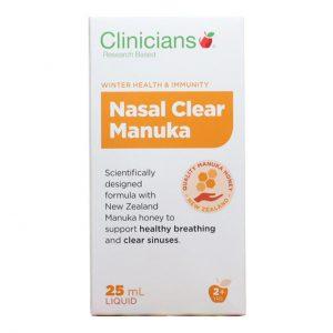 clinicians nasal clear mauka