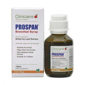 clinicians prospan bronchial syrup