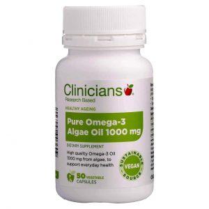 clinicians pure omega 3 algae oil