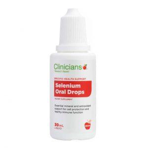 clinicians selenium oral drops cnse front new  83387.1590633797