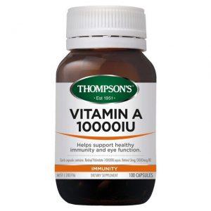 thompson s vitamin a 10000iu