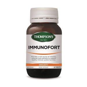 thompsons immunofort 60 tablets