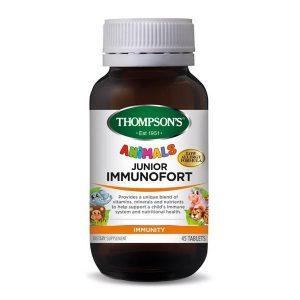 thompsons junior immunofort animals 45 tablets