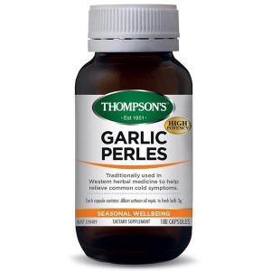 thompsons garlic perles 180s
