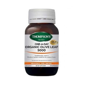 thompsons organic olive leaf 5000 60 Capsules