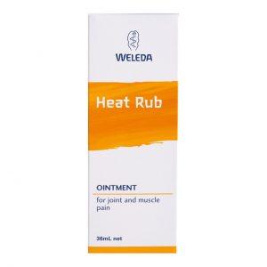 weleda heat rub