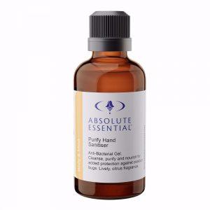 AEpurify hand sanitiser gel organic