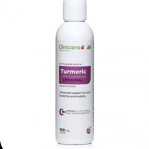 CliniciansLiposomal Turmeric 180ml min
