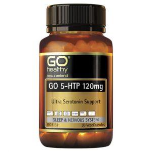 GO 5 HTP 120mg 30 VCaps 1