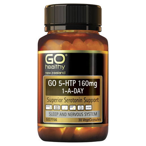 GO 5 HTP 160mg 1 A Day 30 VCaps 1