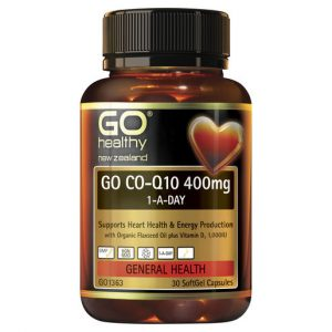 GO Co Q10 400mg 1 A Day 30 Caps 1