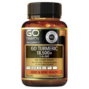 GO Turmeric 18500 1 A Day 30 VCaps 1