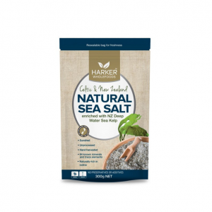 Harker Natural Sea Salt with Kelp
