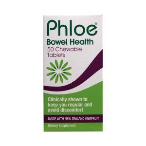 PHLOE BOWEL HEALTH CHEWABLE TABLETS 50S