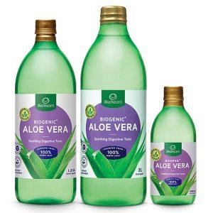 Aloe vera juice 3 sizes