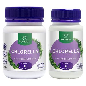 Chlorella 500mg 2 sizes