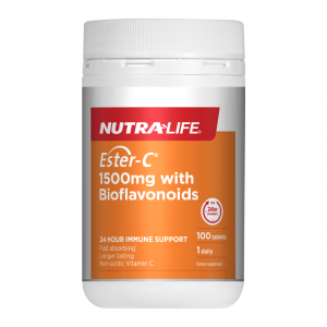 NL Ester C 1500mg with bioflavonoids 100tab