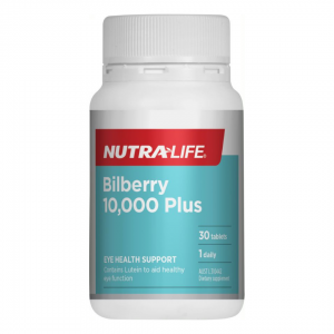 Nutra life Bilberry 10000 plus 30tabs