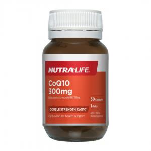 Nutra life CoQ10 300mg 30s