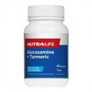 Nutra life Glucosamine turmeric 60caps