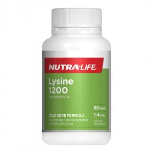 Nutra life Lysine 1200 60tabs