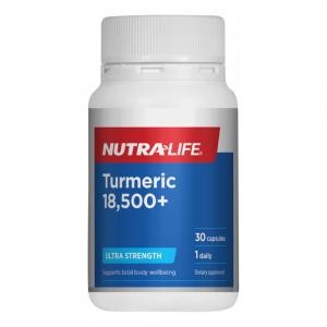 Nutra life Turmeric 18500 30caps