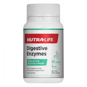 Nutra life digestive enzymes 60caps