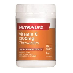 VitaminC1200mgChewableNutra Life