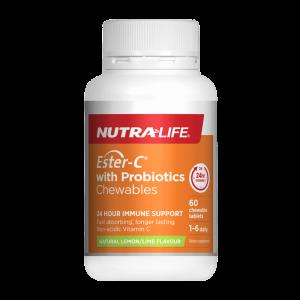 nutralife ester c 500 echinacea probiotics 60caps 1