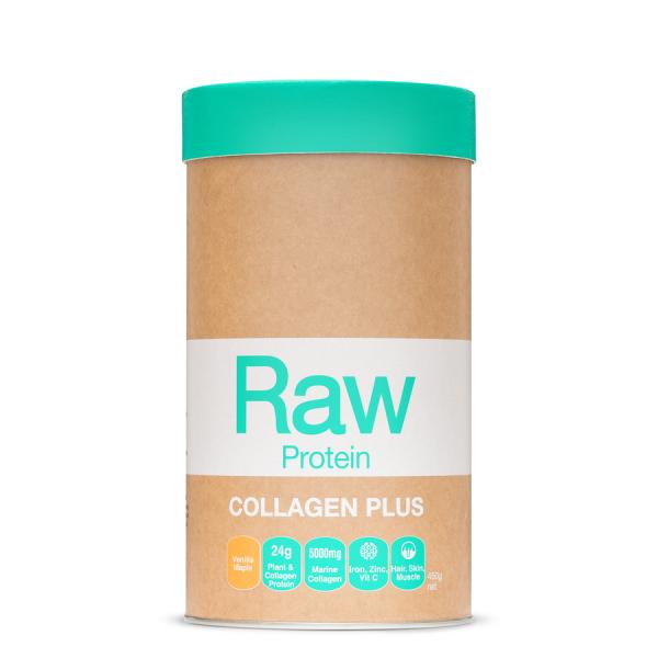 AmazoniaRaw Protein Collagen Plus Maple Vanilla 450g