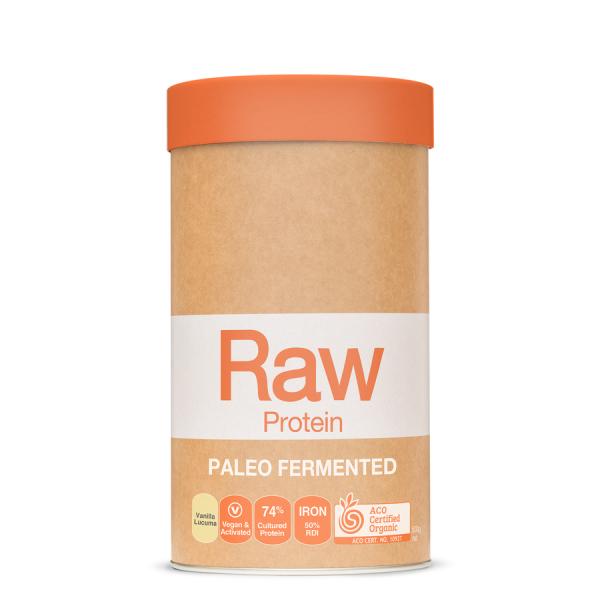 AmazoniaRaw Protein Paleo Fermented Vanilla lucuma
