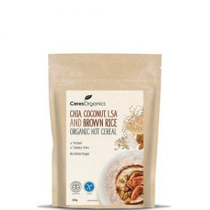 CERES Chia Coconut LSA Brown Rice Hot Cereal