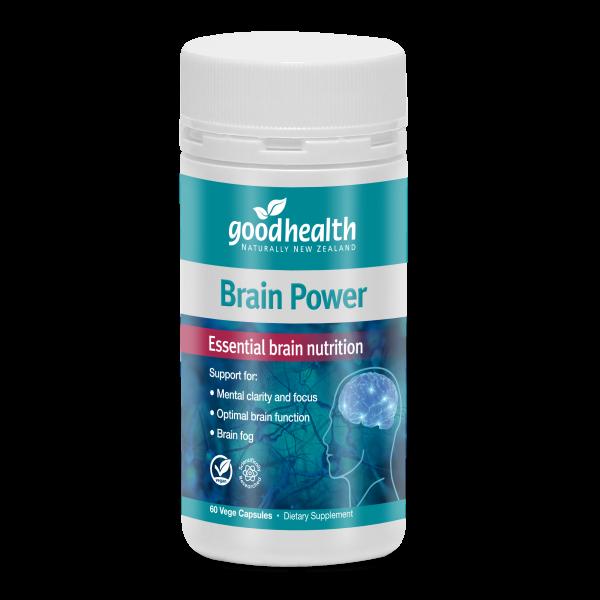 Good Health Brain Power Bottle 60