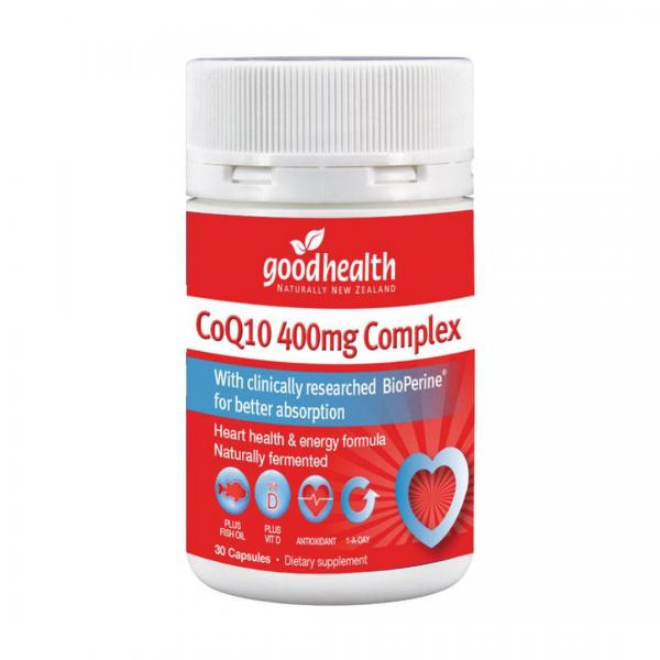 Good health coq10 400mg 30caps