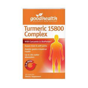 Good health turmeric 15800 complex