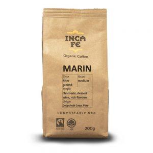 IncaFe Organic Coffee Marin Filter Ground 200g