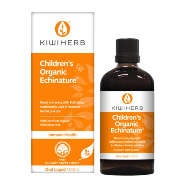 Kiwiherb Childrens Organic Echinacea