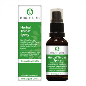 Kiwiherb Herbal Throat Spray