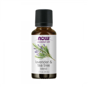 NOW Essential Oil Lavender and Tea Tree Blend Pure