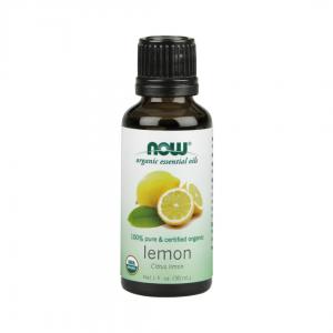 NOW Essential Oil Organic Lemon