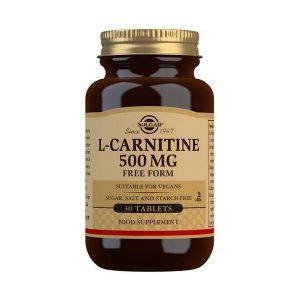 SolgarL Carnitine500mg