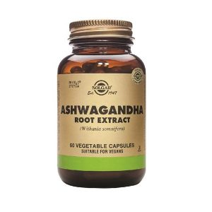 Solgar Ashwagandha Root Extract 60 Vegetable Capsules