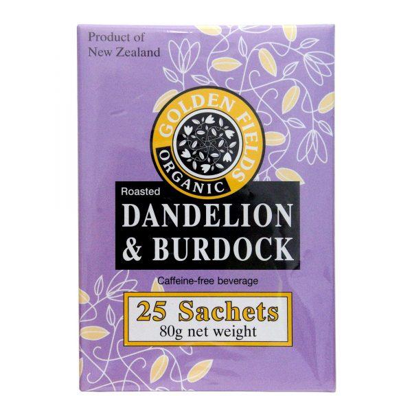 golden fields dandelion burdock