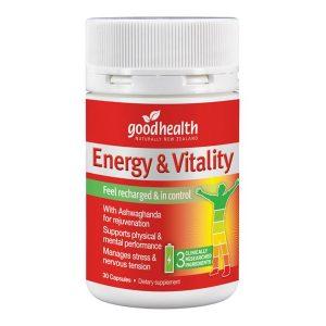 good health energy vitality