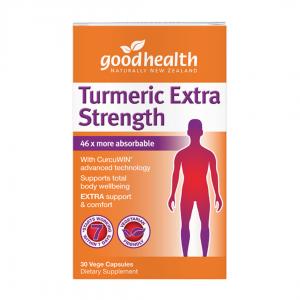 good health turmeric extra strength 30caps