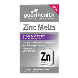 good health zinc melts