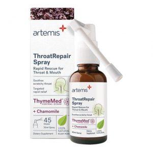 artemis throat repair spray chamomile